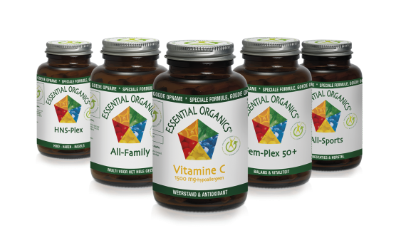 Essential Organics vitaminen en supplementen