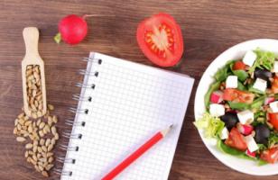 Eetdagboek gezond afwisselend eten
