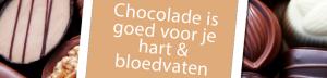 Chocolade goed voor hart en bloedvaten