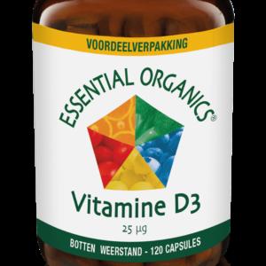 Vitamine D3 120 stuks